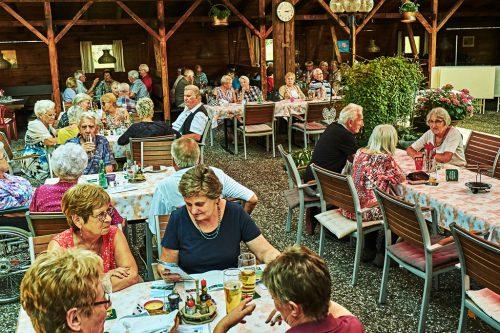 Der Dornbirner Seniorenbund lädt jedes Jahr die Mitglieder zum gemütlichen Sommerfest eindornbirner seniorenbund
