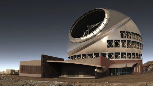 Der Hauptspiegel des Teleskops soll einen Durchmesser von 30 Metern haben und aus 492 einzelnen Segmenten bestehen. AP