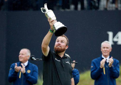 Der Ire Shane Lowry feiert mit dem Sieg bei den 148. British Open den größten Erfolg in seiner Karriere. Reuters