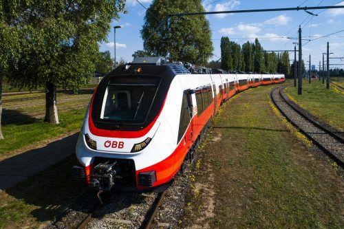 Der neue Regionalzug Cityjet Talent3 ist unterwegs nach Vorarlberg und wird dort auch bereits sehnsüchtig erwartet.Öbb/Mestrovic