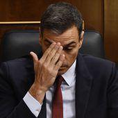 Spaniens Regierungschef Sánchez verliert Votum über Wiederwahl