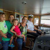 Ein Familienfest auf hoher See
