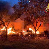Im Süden Italiens wüten riesige Waldbrände