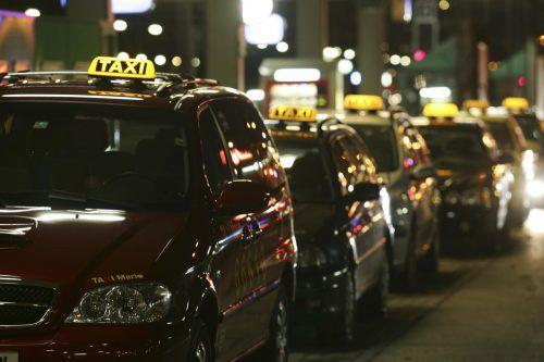 Der Täter war in Bregenz in das Taxi zugestiegen. VN/Hartinger