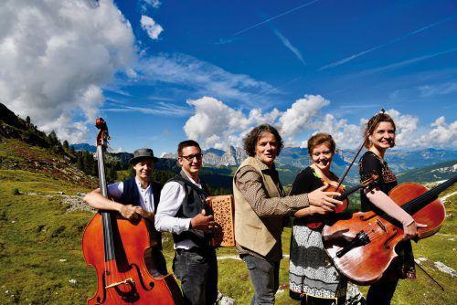 Di Vógaiga laden am Sonntag zum Konzert in die Villa Falkenhorst. vogaiga
