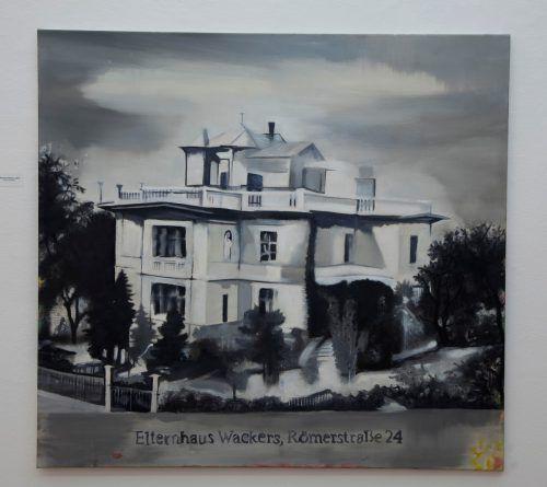 Die Ausstellung Alexandra Wacker umfasst Porträts, Landschaftsbilder, Stillleben und die künstlerische Begegnung mit der Familie.