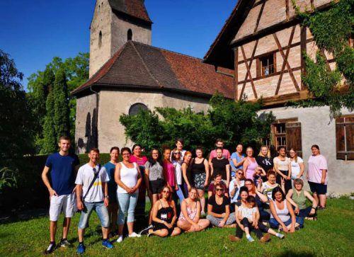 Die deutschen Gäste lernten auch die schönen Seiten des Landes kennen. szw
