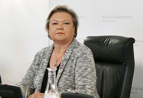 Die ehemalige Dritte Nationalratspräsidentin Kitzmüller hat sich verzählt. APA