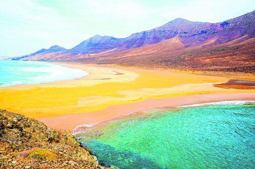 Die eindrucksvolle Landschaft wurde 2009 unter Schutz gestellt.