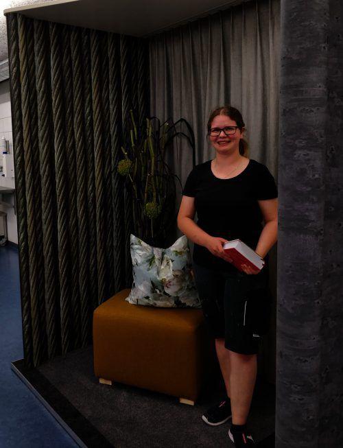 Die Erstplatzierte Jessica Klotz überzeugte beim Lehrlingswettbewerb. wkv