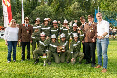 Die Feuerwehr Sonntag zählt 48 aktive Mitglieder und wickelt jedes Jahr rund zehn Einsätze ab. VLK/Hofmeister