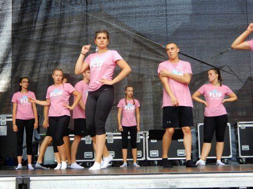 Die Gruppe aus Slowenien erfreuten bei ihrem Auftritt am Montagabend auf der Marktplatzbühne das Publikum.cth