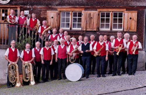 Die Hatler Senioren Musik lädt zum Platzkonzert.hsm
