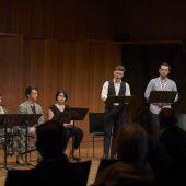 Vorschusslob für die jungen Sänger von Eugen Onegin