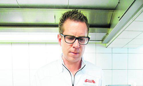 Die Käsefladen aus bis zu zwölf Monate gereiftem Alpkäse schmecken wunderbar würzig. www.fotowerk.cc, Frigesch Lampelmayer