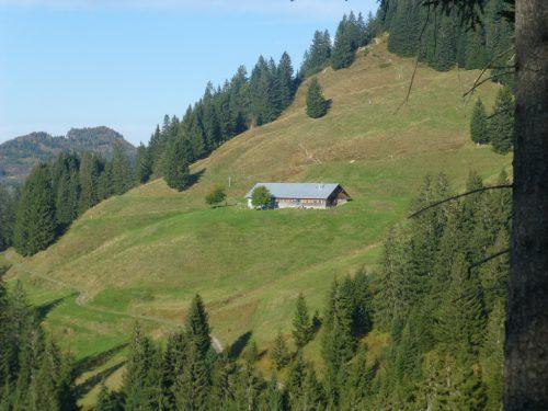 Die Lustenauer Alpen Briedler und Schönenmann sind im Sommer bewirtschaftet und beliebte Ausflugsziele.Gemeinde