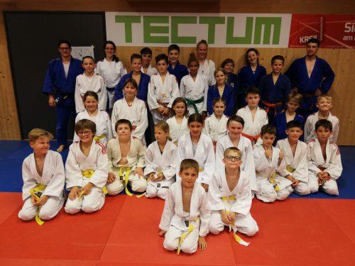 Die Mannschaft des Union Judoclub Hohenems.union judoclub hohenems