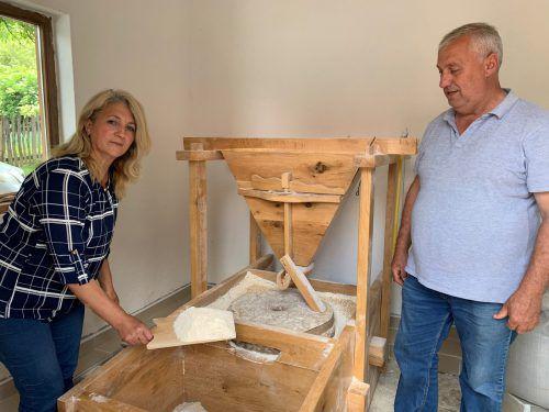 Die Mühle von Suzana und Goran Ivanovic stammt aus dem 19. Jahrhundert. VN/RAM