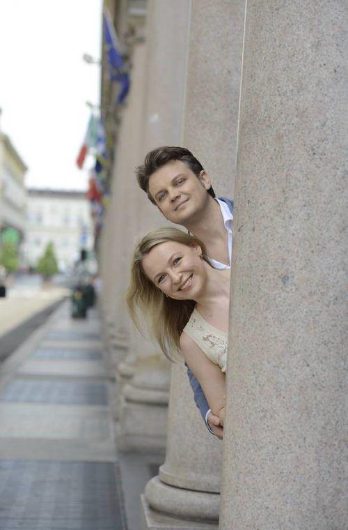 Die russische Sopranistin Julia Novikova wird mit ihrem Mann Dmytro Popov beim Lech Classic Festival in der Neuen Kirche auftreten.Lech Classic Festival
