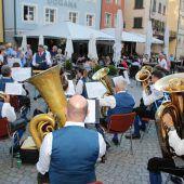 Platzkonzert in der autofreien Neustadt