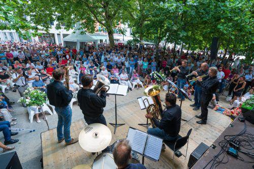 Die Symphoniker haben die Bregenzer heuer schon mit Freiluftkonzerten begrüßt. Stiplovsek