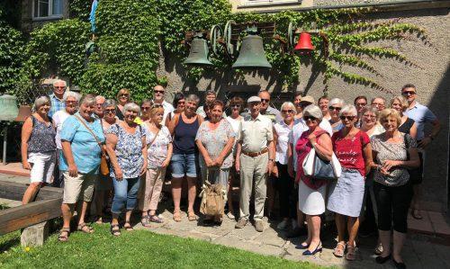 Die Teilnehmer vebrachten einen schönen Tag in Innsbruck und Umbebung.kneipp