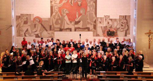 Die vier Chöre sangen sakrale Musik, Gospels und weltliche Lieder.Veranstalter