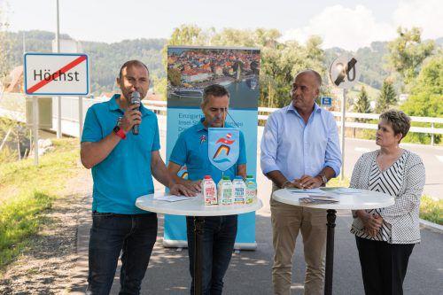 Drei Länder, ein Marathon. Beim Laufspektakel am 6. Oktober werden wieder rund 9000 Teilnehmer erwartet.Steurer