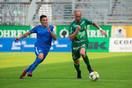 Dritter Test für Matthias Morys und Co. Heute geht es in Sevelen gegen den FC Vaduz.vn