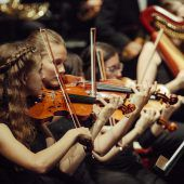 Junge Musiker voller Tatendrang