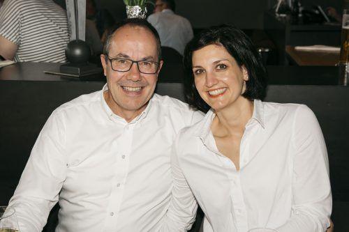 EAV-Fans: Vizebürgermeister Andreas Prenn mit Conny.