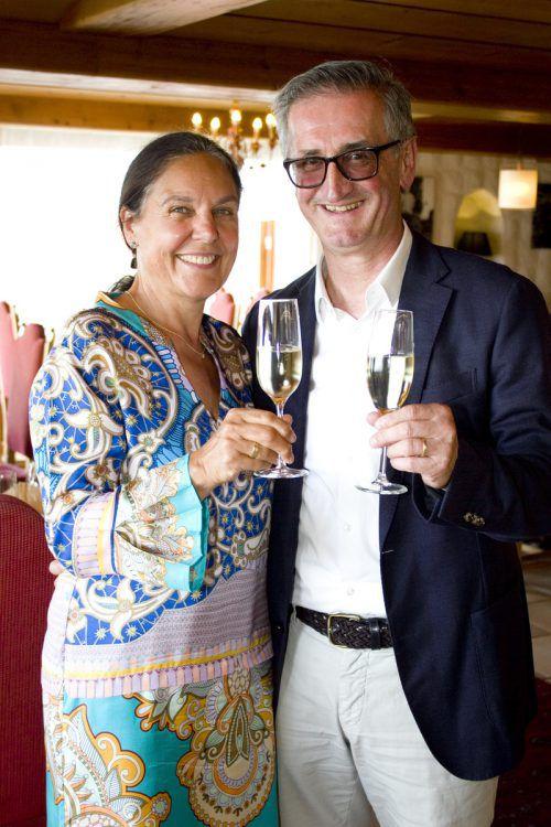 Echte Speis-und-Klang-Fans sind Judith und Gerhard Sperger.
