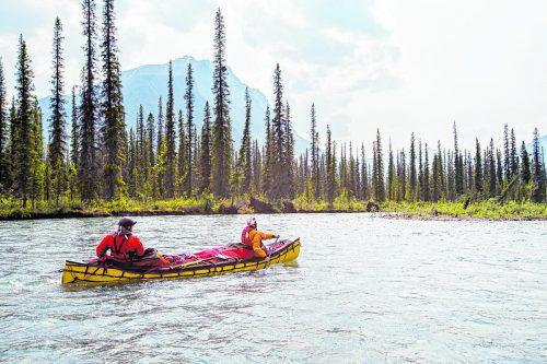 Eine Tour auf dem Yukon River ist für Abenteurer genau das Richtige.