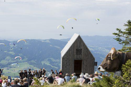 Einer der insgesamt 14 besonderen Veranstaltungsorte ist die Kapelle auf der Niedere in Andelsbuch. FAQ/Darko Todorovic