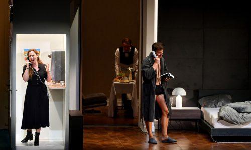 """Elena Stikhina als Médée und Pavel Cernoch als Jason in Cherubinis Oper """"Médée"""" im Großen Festspielhaus in Salzburg. APA"""