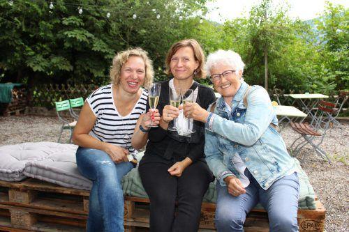 Elfriede Hirtler, Marlene Kilga und Margrit Zwischenbrugger.