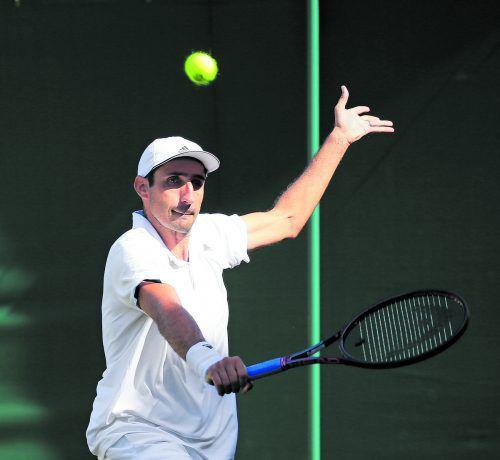 Endstation im Achtelfinale: Philipp Oswald verkaufte sich beim Aus im Doppel in Wimbledon mit Partner Roman Jebavy aber sehr gut.apa