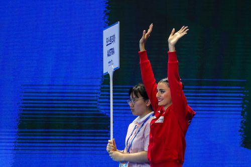 Erreichte bei der WM im Solo-Freibewerb den achten Rang: Vasiliki Alexandri.GEPA