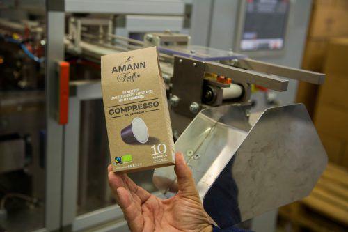 Erste komplett recycelbare Kaffeekapsel wurde mit Amann Kaffee entwickelt. VN/RP