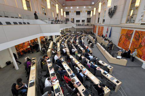 Am Mittwoch fand die letzte Nationalratssitzung vor der Wahl am Sonntag statt. APA
