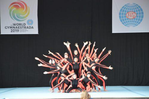 Fantastische Performance einer Gruppe aus Italien.vv