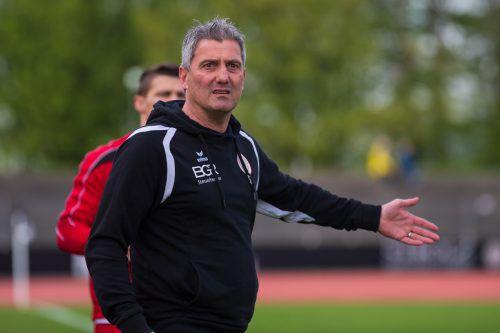 FCD-Trainer Markus Mader.