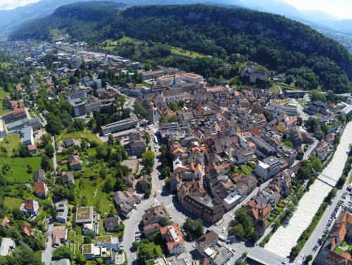 Feldkirch steht nicht still. Die Stadt hat einiges vor, wie Überlegungen und Planungen zeigen.VN/Lerch