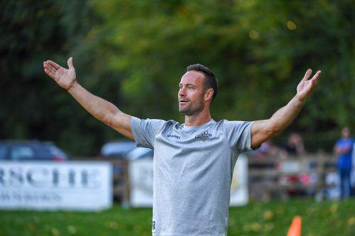 FCW-Trainer Joachim Baur sieht seine Mannschaft gut vorbereitet.VN/Lerch