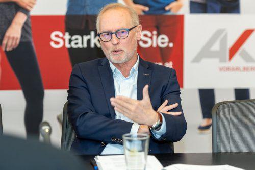 AK-Direktor Rainer Keckeis. ak