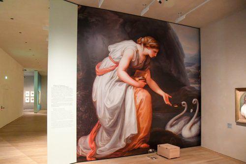 Die Angelika-Kauffmann-Ausstellung im vlm kann noch bis 6. Oktober besucht werden. vn/Lerch
