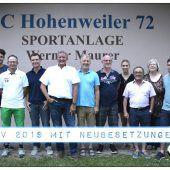 Neuer Vorstand beim SC Hohenweiler