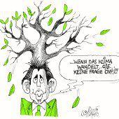 Wahlkampf-Frisur!