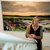 Künstlerin Alexandra Wacker lockt ins Bregenzer Palais Thurn und Taxis. D7