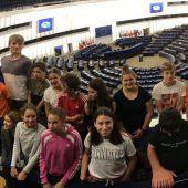 Schüler auf EU-Mission